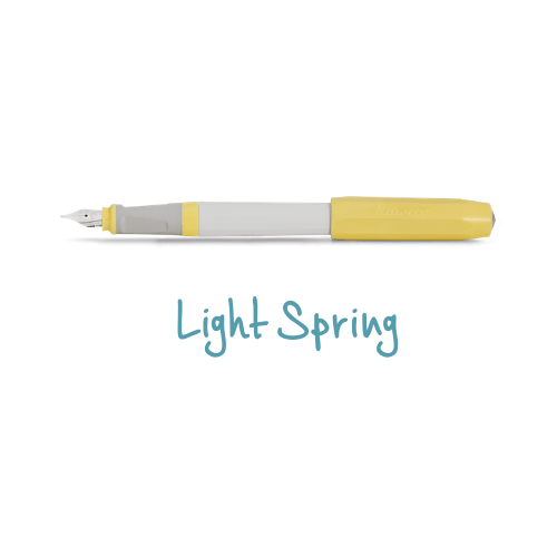 Kaweco Perkeo Fountain Pen New Colours Light Spring