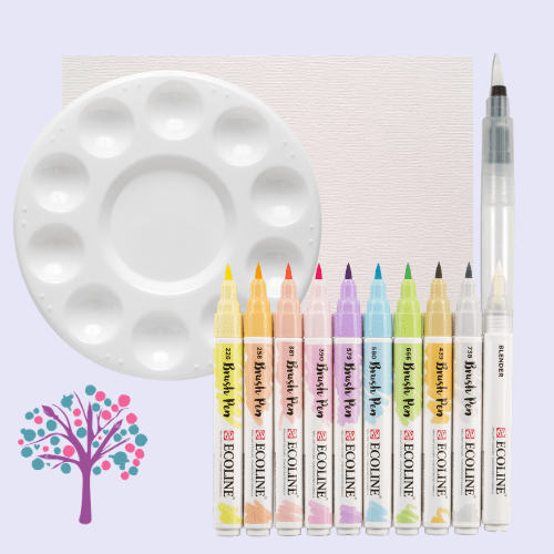 Ecoline Watercolouring Set