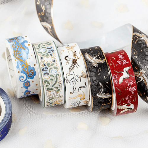 Oriental Foiled Washi Tape