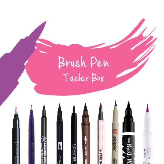 Brush Pen Taster Box