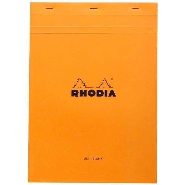 Rhodia Head-Stapled Notepad No 18 A4
