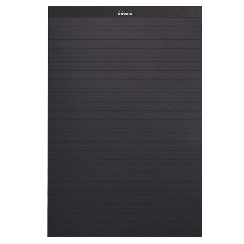 Rhodia PAScribe Calligraphy Practise and Correspondence Pad Black