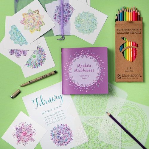 Mindful Mandala Rowan Berry Box