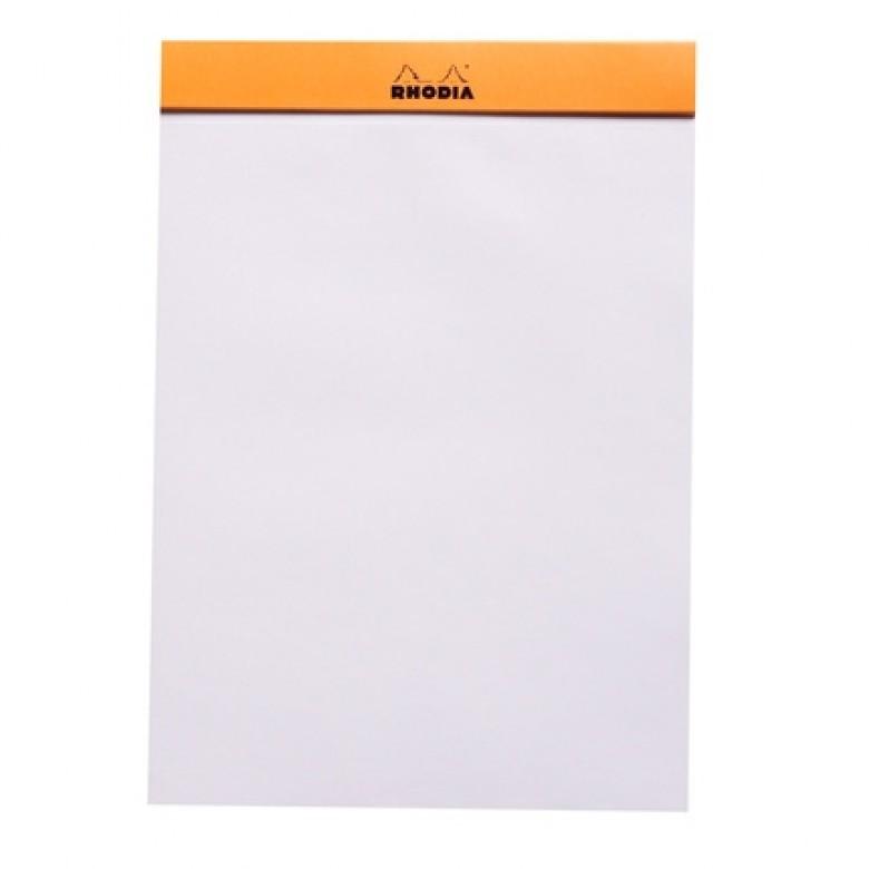 Rhodia Head-Stapled Notepad No 16 A5 Plain