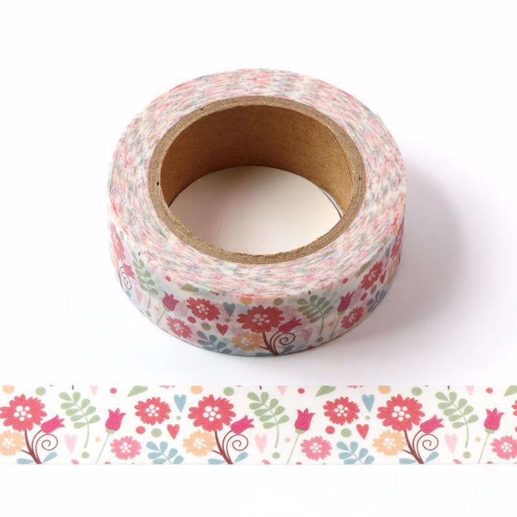 Floral Washi Tape - Vintage Flowers