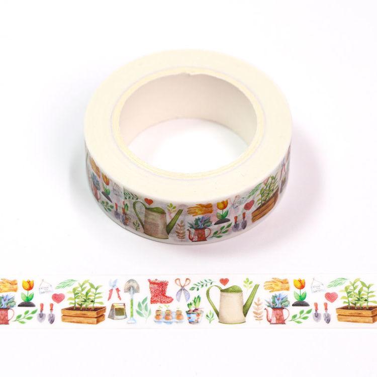 Floral Washi Tape - Gardening