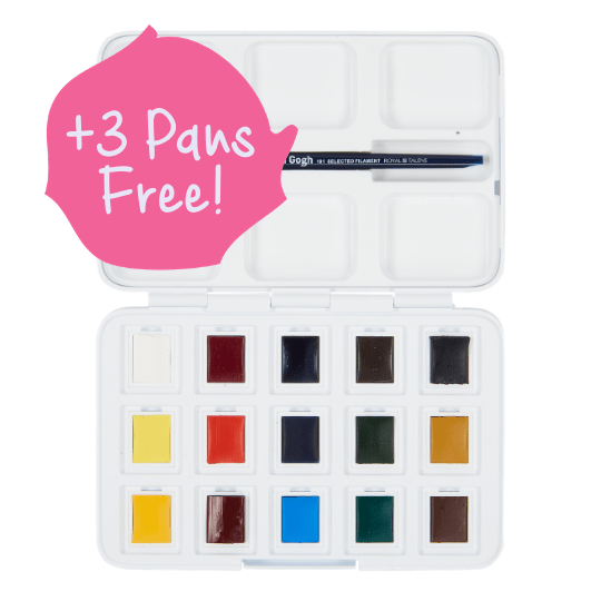 Watercolour Pocket Box
