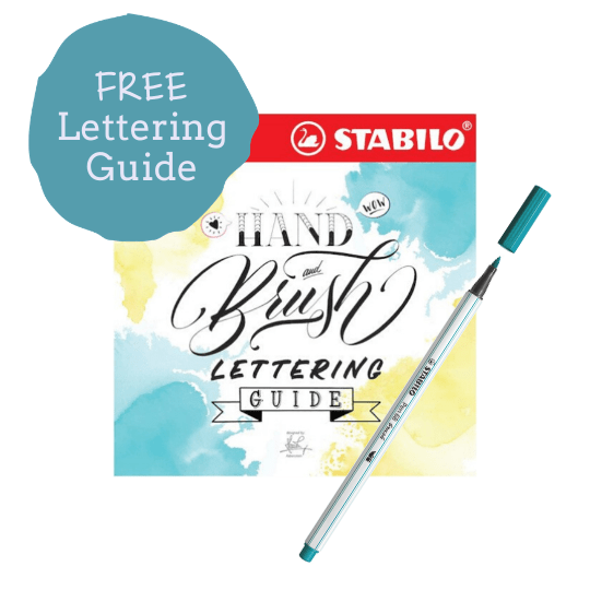 STABILO Free Lettering Guide