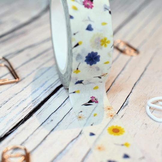 Tiny Flowers Washi Tape