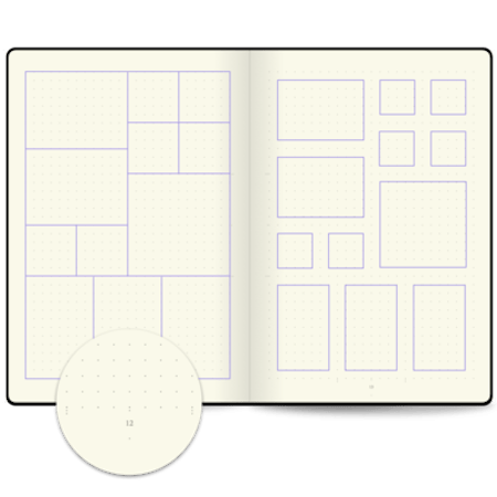 Bullet Journal Edition 2 Layout Planner