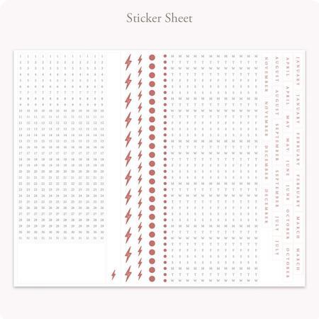 Bullet Journal Edition 2 Sticker Sheet