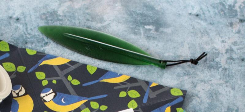 Green Leaf Letter Opener