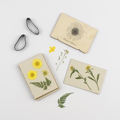 Pocket Flower Press - Line Drawing