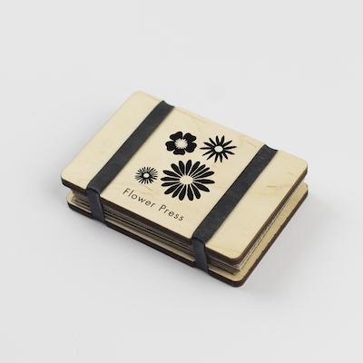 Pocket Flower Press - Silhouette - Small Flowers
