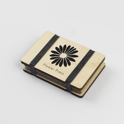 Pocket Flower Press - Silhouette - Large Flower