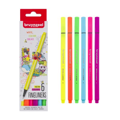Neon Fineliners Bruynzeel