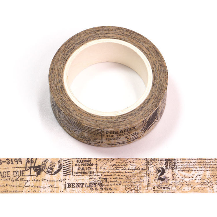 Vintage Text Washi Tape