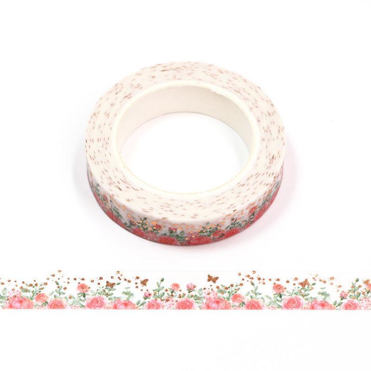 Rose Washi Tape 10mm