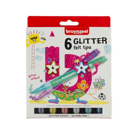 Glitter Felt tips