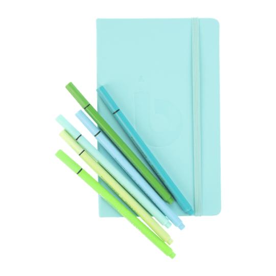 Bullet Journal - Turquoise - 13 x 21cm