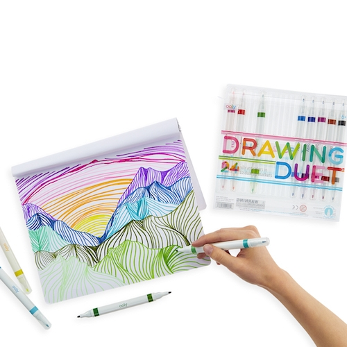 Drawing Duet Double-Ended Markers