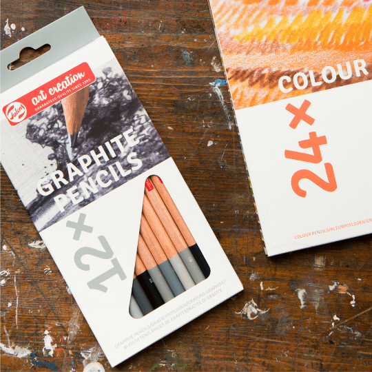 Graphite Pencils - Set of 6