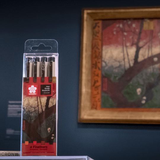 Sakura x Van Gogh Museum Pigma Micron Fineliners