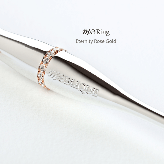 Moblique Eternity Rose Gold Mo Ring