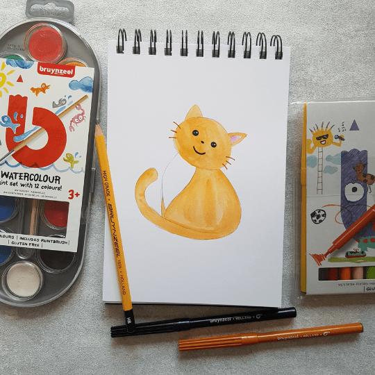 Watercolour Paint Dot Set
