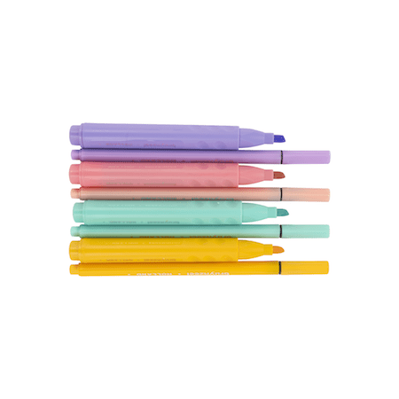 Pastel Highlighters x4