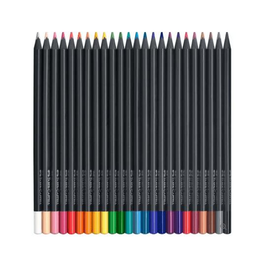 Black Edition Colour Pencils x 24