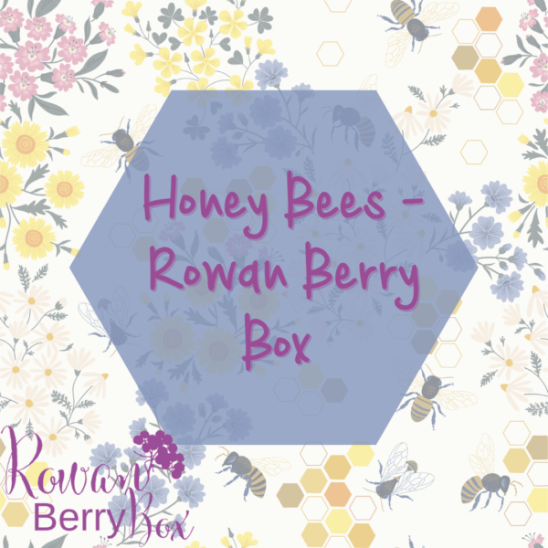 Honey Bee Rowan Berry Box