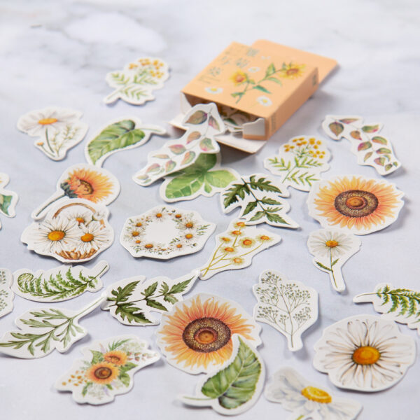 Sunflower Stickers