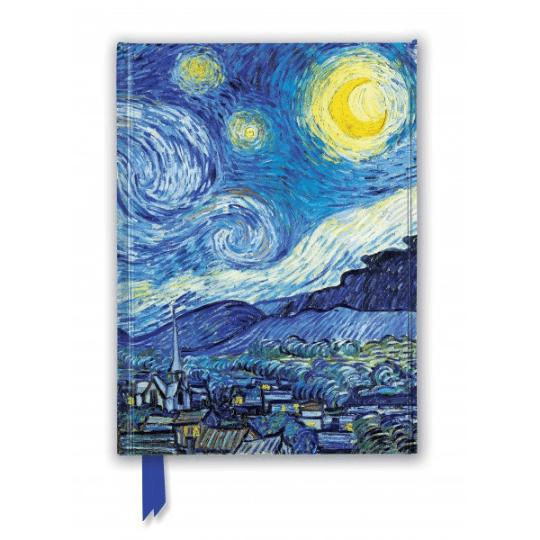 Van Gogh Starry Night Foiled Journal
