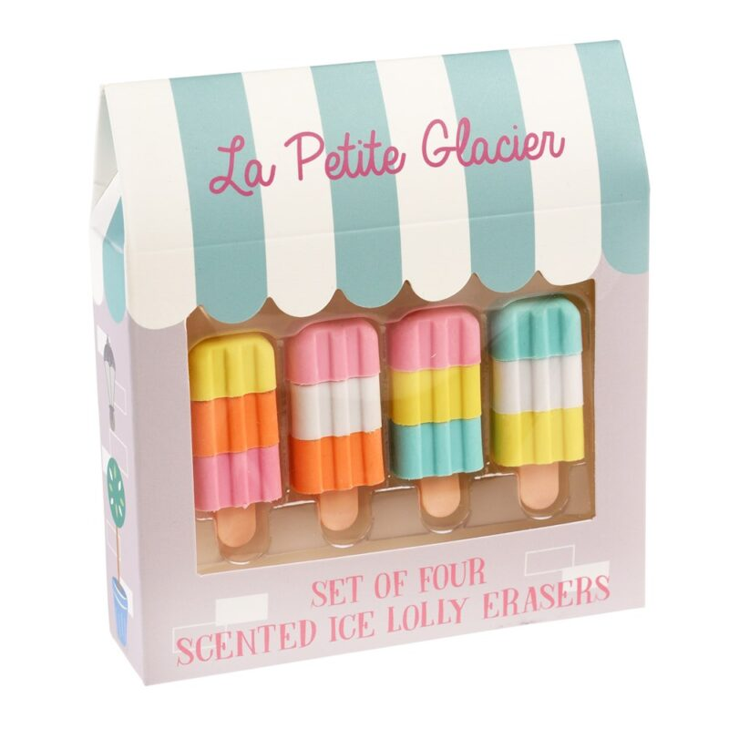 Scented Ice-lolly Rubbers