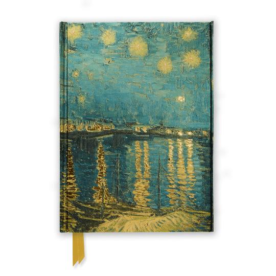 Van Gogh Starry Night over the Rhone Blank Journal