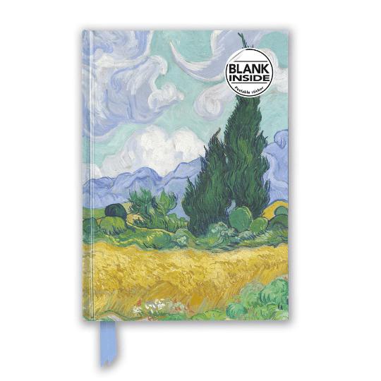 Van Gogh Wheat Field with Cypresses Blank Journal