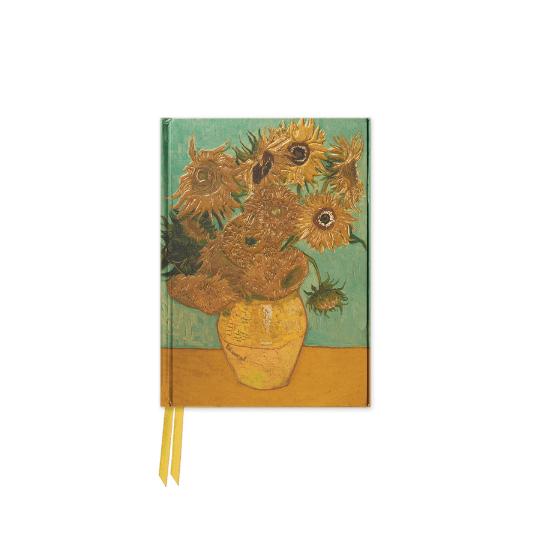 Van Gogh Sunflowers Foiled Journal A5