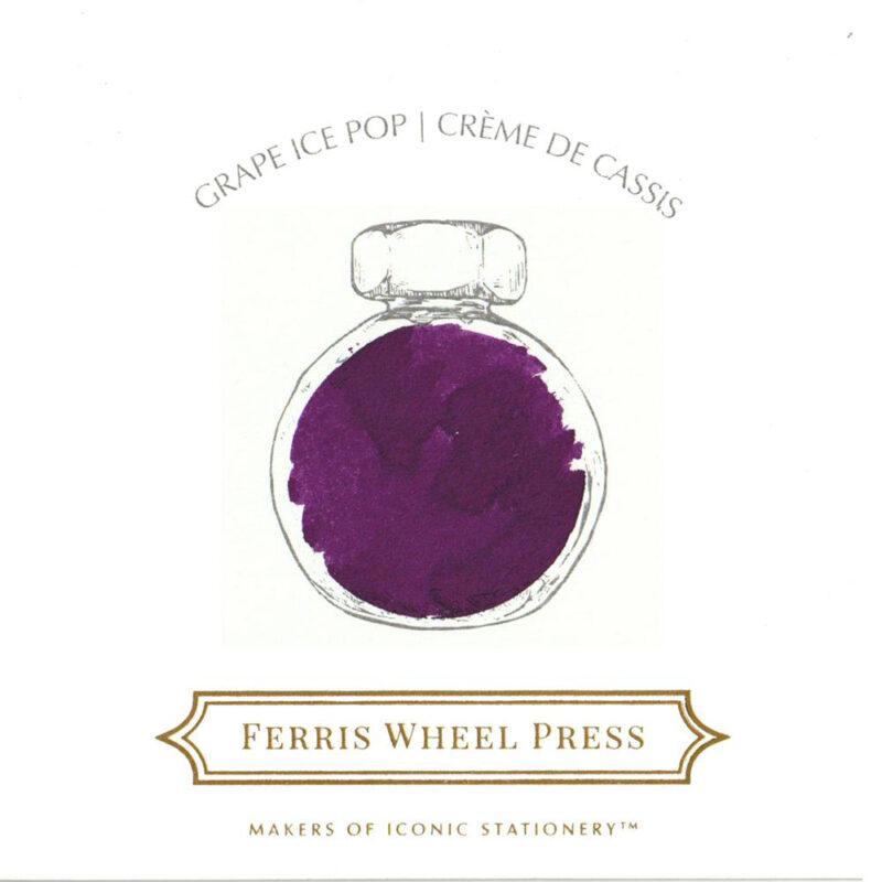 Ferris Wheel Press Ink - Grape Ice Pop 38ml