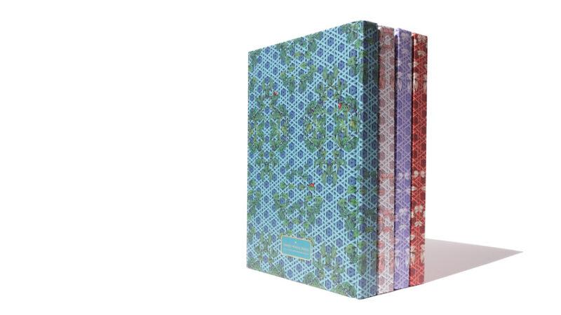 A5 Sketchbook Enveloped in Rattan