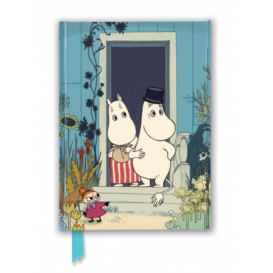Moomins on the Riviera Foiled Journal A5
