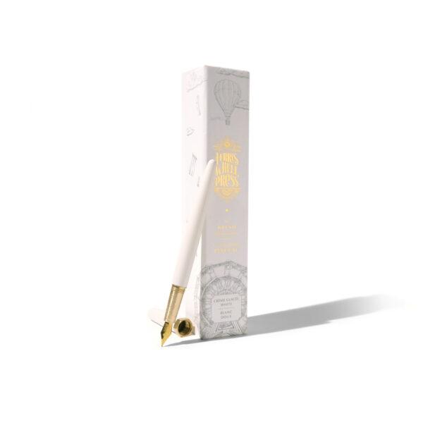 Crème Glacée Brush Fountain Pen Gold Nib