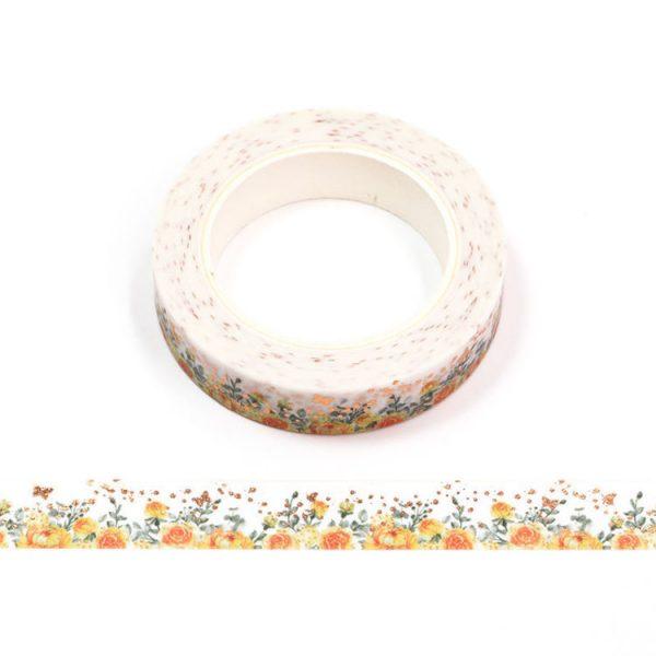 Peach Rose Washi Tape