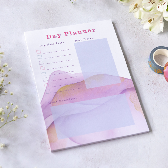 Day Planner Pad