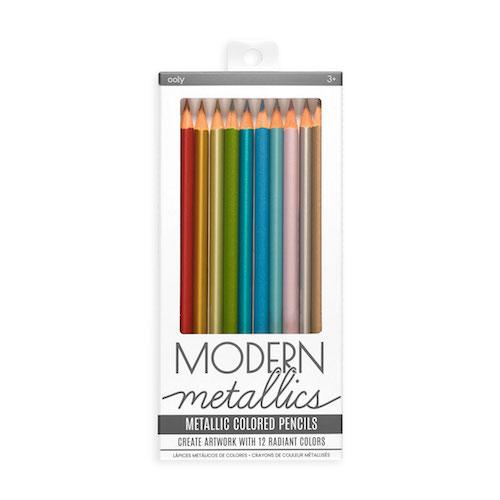 Modern Metallics Coloured Pencils