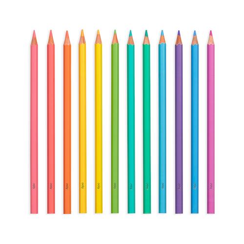 Pastel Hues Coloured Pencils x 12