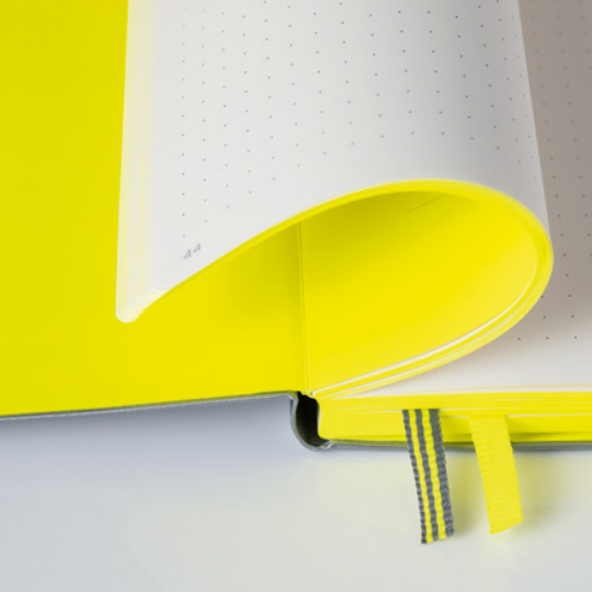 NEON! Edition A5 Notebook Yellow