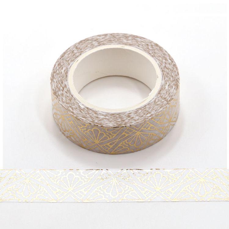 Art Deco Gold Foil Washi Tape