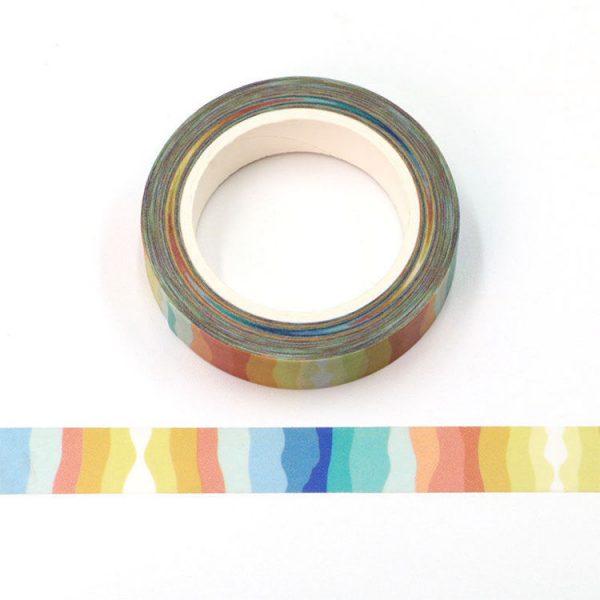 Colourful Paper Strip Washi Tape