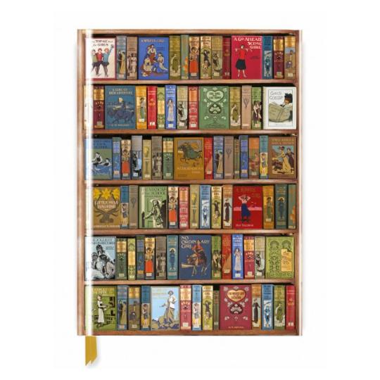 High Jinks Bookshelves Foiled Journal